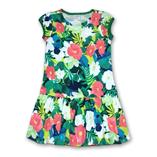 Thời trang trẻ em : Váy Gymboree - hoa xanh