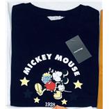Thời trang trẻ em : Áo thun mickey hiệu mind bridge - Đen