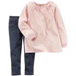 Thời trang trẻ em : Bộ Carter's - Hồng phấn