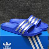 Dép Adidas Duramo xanh dương bạch kim