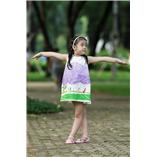 Thời trang trẻ em : Váy vẽ cách tân 008