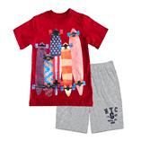 Thời trang trẻ em : Bộ Gap - ván trượt
