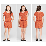 Thời trang trẻ em : Jumsuit cat va jack - Cam