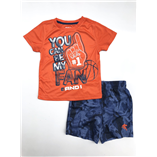 Thời trang trẻ em : Tên Bộ AND-01 - màu cam