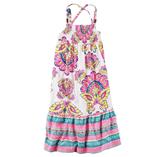 Thời trang trẻ em : Váy Carter maxim - Hoa văn hồng