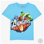 Thời trang trẻ em : Áo đại Marvel 19 - Màu Xanh Da Trời