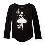 Thời trang trẻ em : Áo tay dài Place - Cô gái