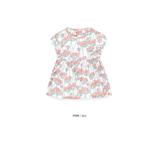 Thời trang trẻ em : Áo váy Pimpollo - Hoa hông