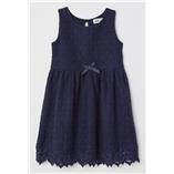 Thời trang trẻ em : Váy ren H&M -  Xanh Navy