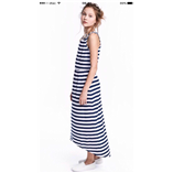 Thời trang trẻ em : Đầm Maxi H&M - Sọc xanh buớm ở ngực