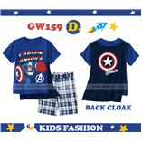 Thời trang trẻ em : GW 159 - Captian America