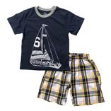 Thời trang trẻ em : Bộ Place  - Thuyền buồm