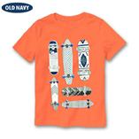 Thời trang trẻ em : Áo thun Oldnavy - Ván trượt