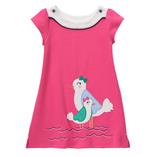 Thời trang trẻ em : Đầm Gym thêu gà kèm quần chíp