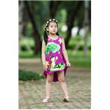 Thời trang trẻ em : Váy vẽ cách tân 011