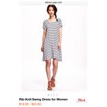 Thời trang trẻ em : Đầm kẽ Old Navy