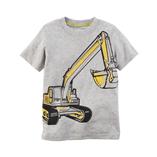 Thời trang trẻ em : áo thun Carter's - Xe xúc