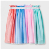 Thời trang trẻ em : Chân váy voan phối màu size đại Cat & Jack
