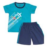 Thời trang trẻ em : Bộ thun Oshkosh-Xanh Máy Bay