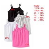 Thời trang trẻ em : Áo 2 dây Oldnavy - Ghi Xám