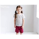 Thời trang trẻ em : Bộ Minou - Quan đỏ
