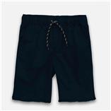 Thời trang trẻ em : Quần short kaki-Xanh Đen