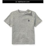 Thời trang trẻ em : Áo thun Polo size Nhí 018 - Ghi Xám