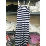 Thời trang trẻ em : .Đầm Maxi  H&M - sọc trắng xanh