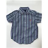 Thời trang trẻ em : Áo sơ mi Polo018 - Sọc 08