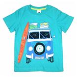 Áo thun Palomino - Xe cứu hỏa xanh trời
