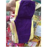 Thời trang trẻ em : Quần áo dài màu tím