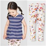 Thời trang trẻ em : Bộ Cat & Jack -  Sọc Hoa