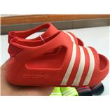 Thời trang trẻ em : SANDAL ADIDAS - Màu đỏ sọc trắng