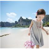 Thời trang trẻ em : Váy maxim Ebuty - Xám