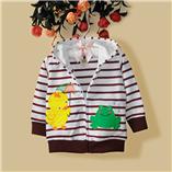 Thời trang trẻ em : AK065 - Gà con và ếch