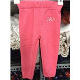 Thời trang trẻ em : Quần nỉ Gap - Hồng cam