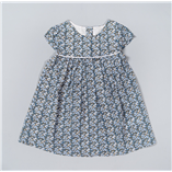 Thời trang trẻ em : Váy The Little White - Hoa xanh