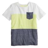 Thời trang trẻ em : Áo Jumping Beans bé trai - Sọc Vàng chanh