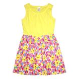 Váy Gym sát nách - Vàng hoa