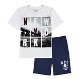 Thời trang trẻ em : Bộ Gap - NY trắng