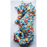 Thời trang trẻ em : Gối cá ngựa 08 - Mickcy xanh 65cm