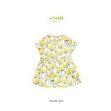 Thời trang trẻ em : Áo váy Pimpollo - Hoa vàng