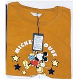 Thời trang trẻ em : Áo thun mickey hiệu mind bridge - Cam