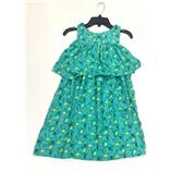 Thời trang trẻ em : Váy Maxi Plus - Xanh