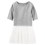 Thời trang trẻ em : Váy Oshkosh - Xám