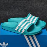 Dép Adidas Duramo xanh ngọc trắng