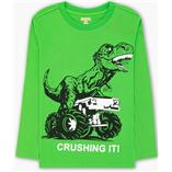Thời trang trẻ em : Áo thun tay dài Gymboree - khủng long xanh lá