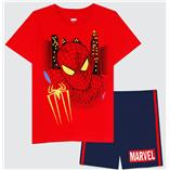 Thời trang trẻ em : Bộ Marvel 19 - Màu Đỏ