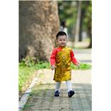 Thời trang trẻ em : Áo dài Xuân 2018 - Sắc Xuân