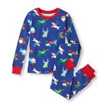 Thời trang trẻ em : Bộ ngủ Place - Tuần lộc-xanh